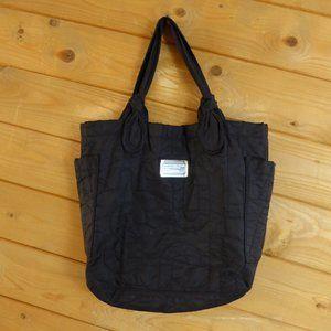 Marc Jacobs Black Nylon Work Wear Tate Tote Bag